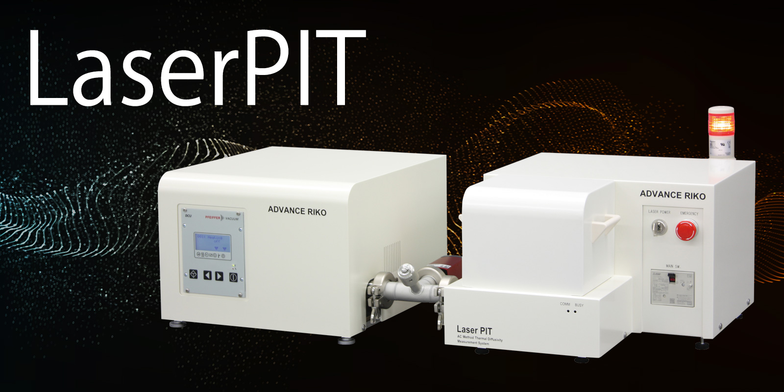ac method thermal diffusivity measurement system laserpit advance